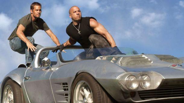 Paul Walker and Vin Diesel take one last ride together in 'Furious 7'.