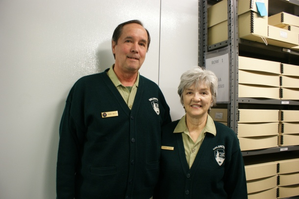 The National Park Service Outer Banks Group is honoring local volunteers, including Mark and Yvonne Knock.