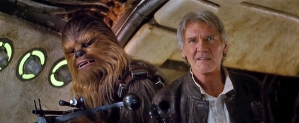 Chewbacca and Han Solo return in 'Star Wars: The Force Awakens'!
