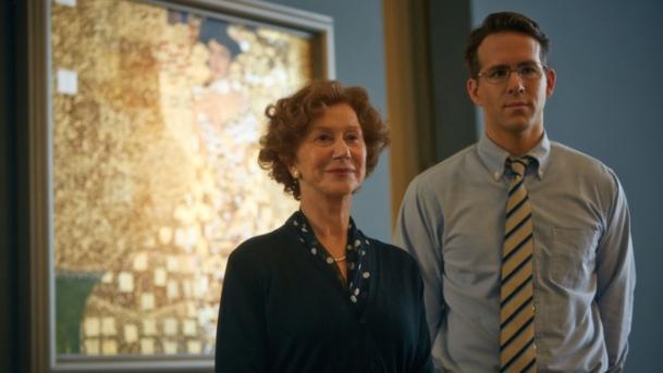 Helen Mirren and Ryan Reynolds star in 'Woman in Gold'.